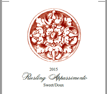 2015 Riesling Appassimento Image