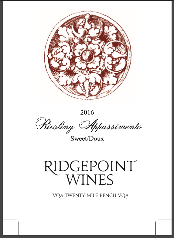 2016 Riesling Appassimento Image